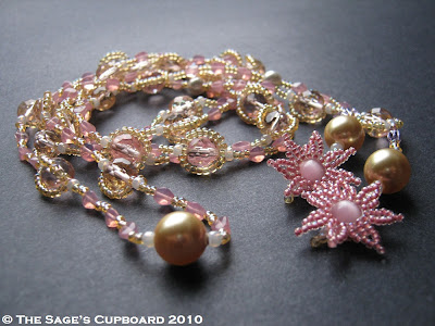 Pink Champagne Lariat by The Sage's Cupboard
