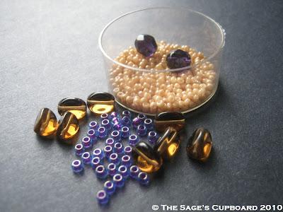 Rocky Purple Bead Palette