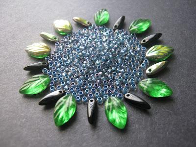 Blue Eclipse Bead Palette