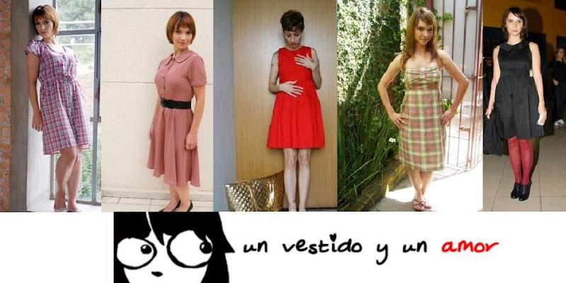 vintage, retro, vestido