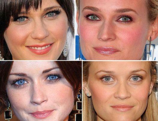 Como Maquiar Olhos Azuis