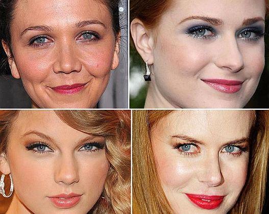 Celebridades de Olhos Azuis