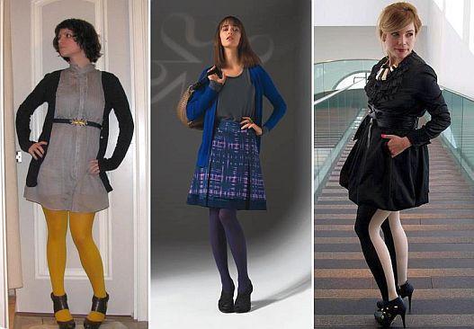 Moda da Meia Calça