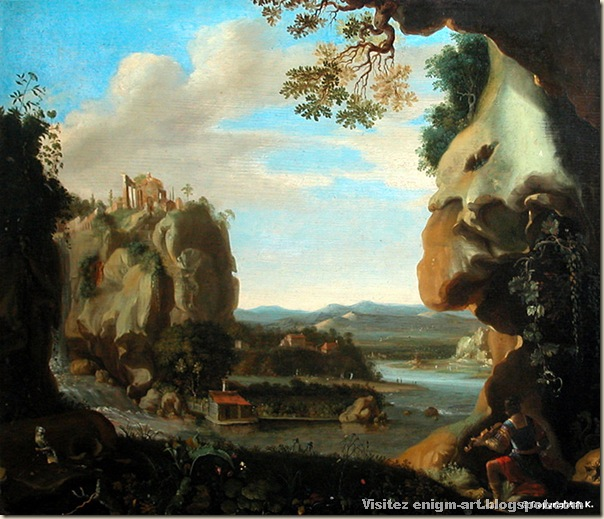 Jan Linsen : Orphée : Orphée à l'entrée des Enfers - Hollande - Première moitié du XVIIème siècle - Musée du Louvre