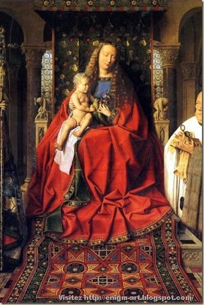 Jean Van Eyck, Madone au Chanoine Georges van der Paele, 1436