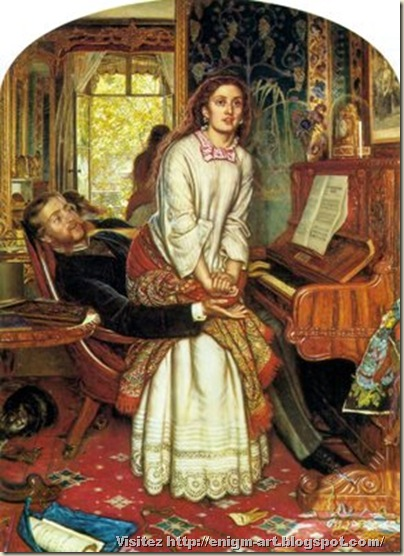 William Holman Hunt , Conscience, 1853