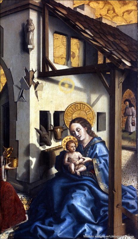 Konrad Witz, Adoration des mages, 1444, Suisse