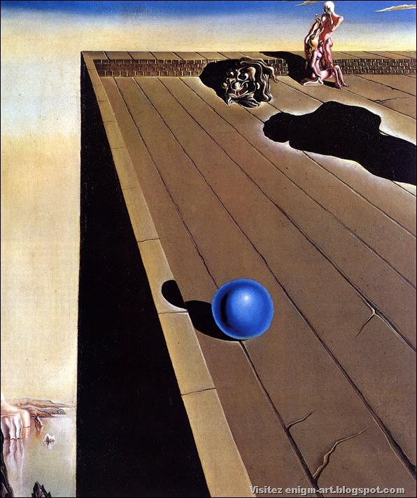 """Salvador Dali, """"Vertige"""", 1930, collection particulière"""