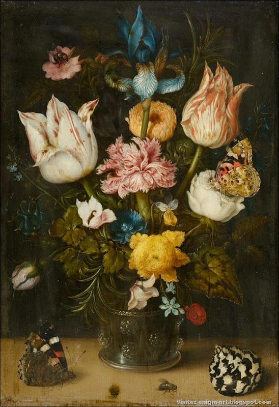 Ambrosius Bosschaert, Bouquet de fleurs