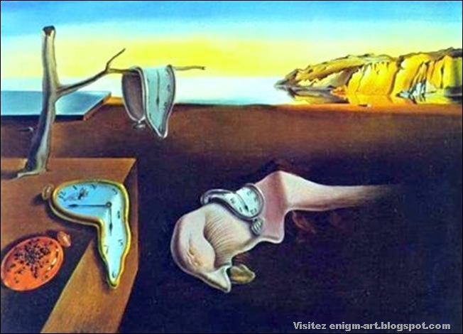 Salvador Dali, la persistance de la mémoire, 1931