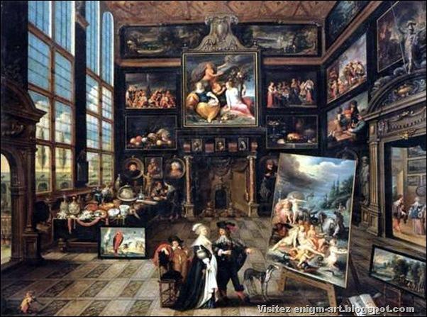 Cornelis de Baelleur, Cabinet d'amateur, 1637