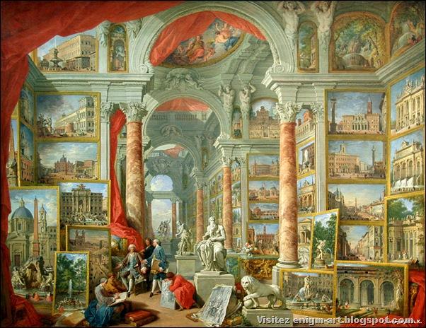 Giovanni Paolo Pannini, Galeries de la Rome Moderne