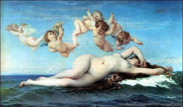 Alexandre Cabanel, La naissance de Vénus
