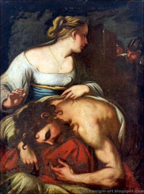 Ecole de Naple, Samson et Dalila, XVIIe