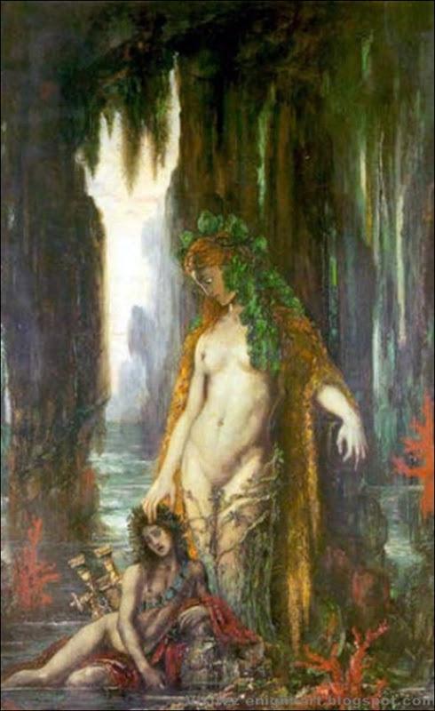 Gustave Moreau Le Poête et la Sirène