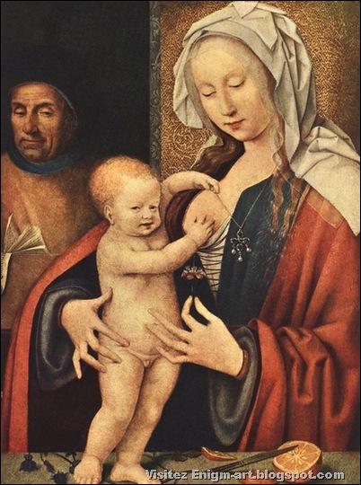 Joos Van Cleve, Sainte famille, 1520