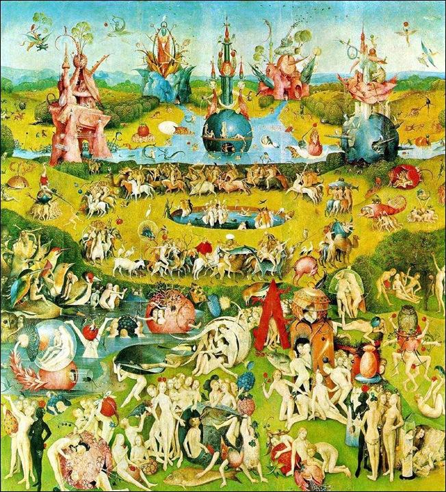 Jérome Bosch, jardin des délices, 1503-1504
