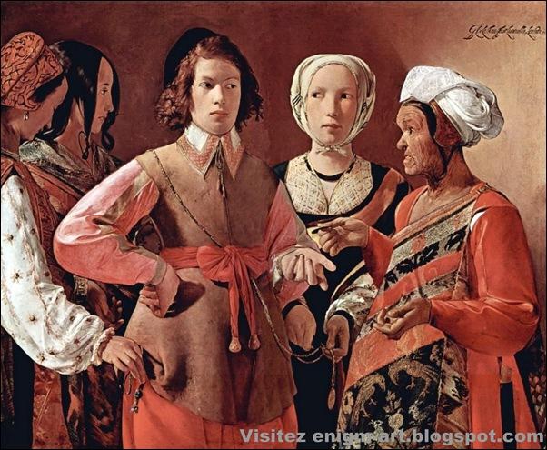 Georges de la Tour, La bonne aventure, 1632