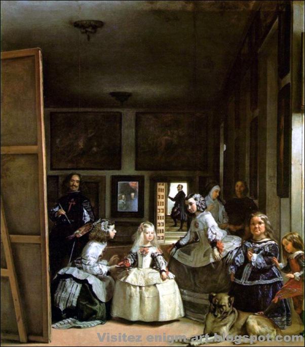 Velasquez, Les ménines, 1656-1657