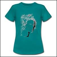 t-shirt-classique-femme Mouche de beauté chez Arteeshirt.com
