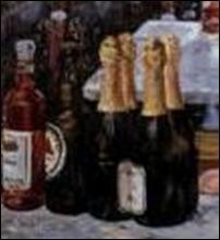Détail, Bar aux Folies Bergère de Manet