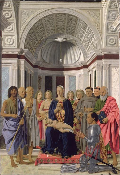 Piero della Francesca, Le retable de Brera