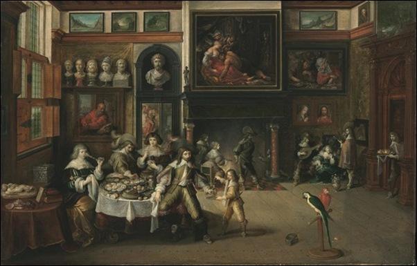 Franz Francken, Le banquet 1630