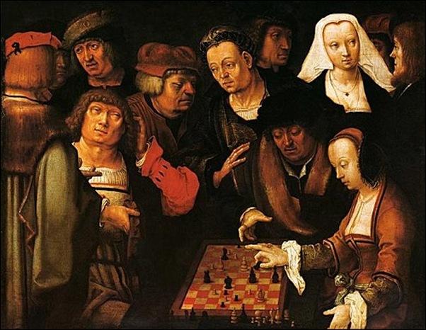 Lucas Van Leyden, Parie d'échecs