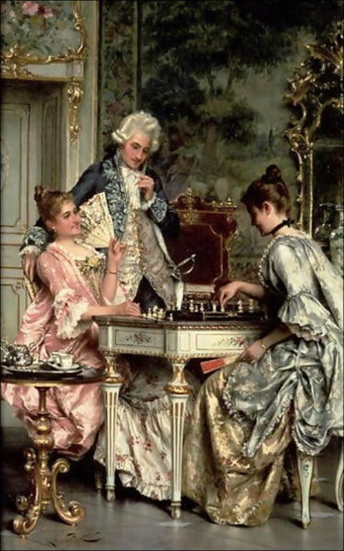 Arturo Ricci, Le jeu d'échecs