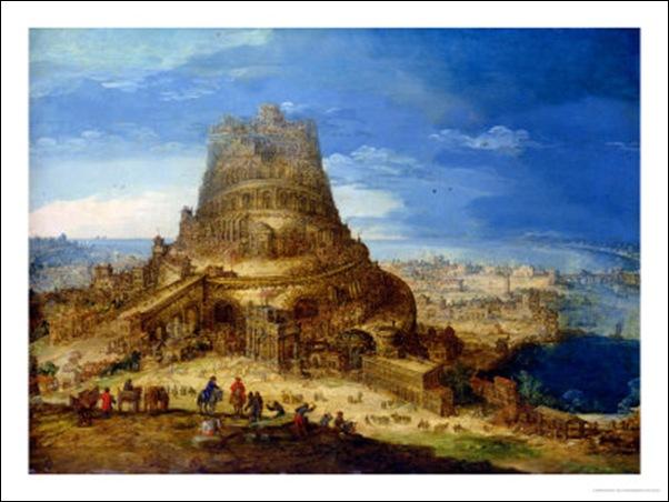 Hendrick Van Cleve, La Tour de Babel
