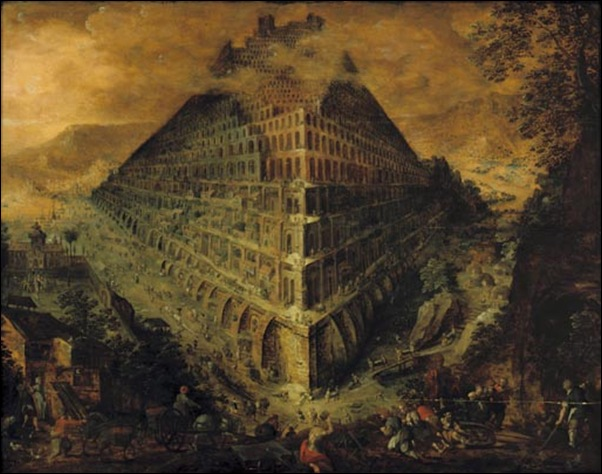 Lucas Walkenborch, La tour de Babel