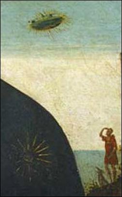 Détail de la vierge à l'enfant de Salaio