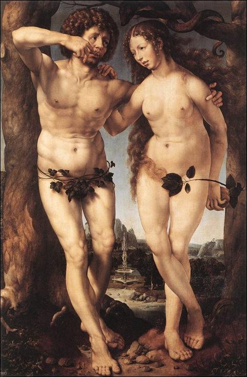 Jan Mabuse Gossaert, Adam et Eve