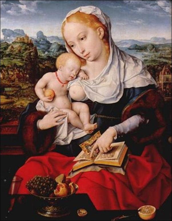 Van Cleve, La Vierge et l'enfant