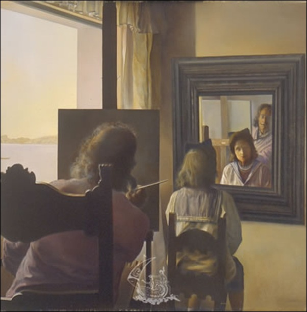Dali, Peinture stéréoscopique 1976