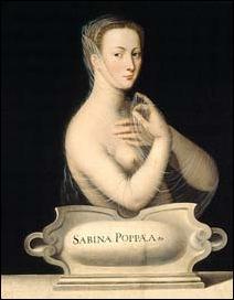 Ecole de Fontainebleau, Sabina Poppea 1550 1560