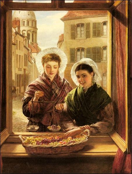 William Powell Frith, Jeunes femmes à la fenêtre