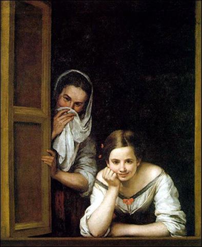 Bartolomeo Esteban Murillo, Femmes à la fenêtre 1670