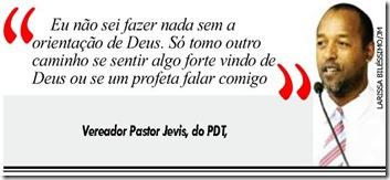 Pastor Jevis e Deus