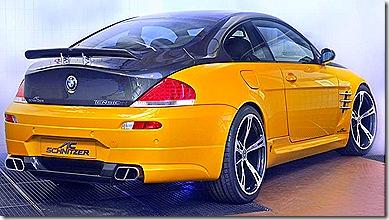 BMW M6 verso