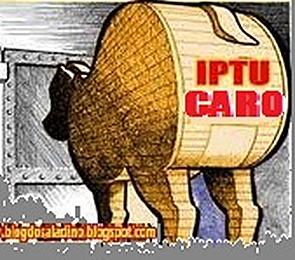 IPTU caro