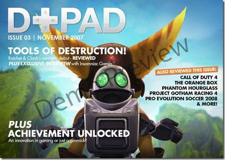 D+PAD 03 - British Game Magazine