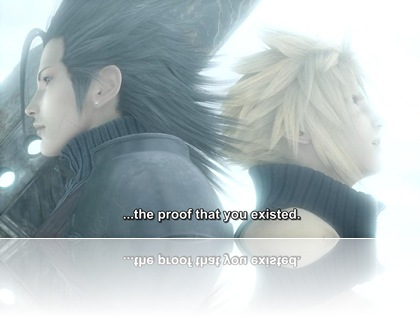subtitel on FF 7 Advent Children Complete