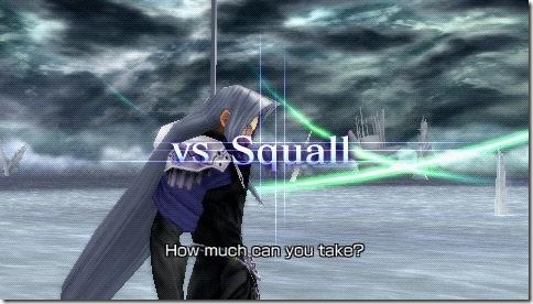 Sepiroth vs Squall