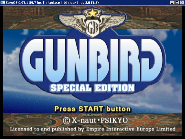 Gunbird_Special_Edition_PCSX2_Title