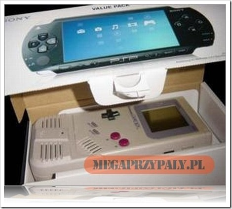 PSP GameBoy Box.