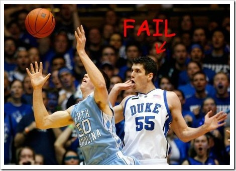 Fail Basketball.