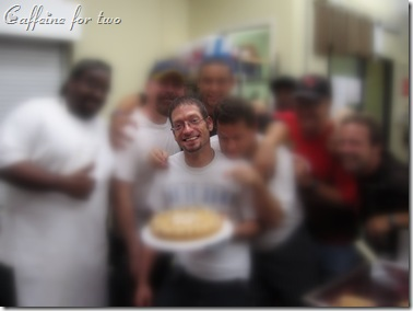 Terry's farewell