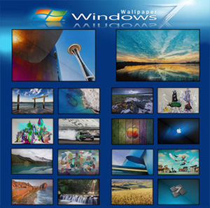 Windows 7 Full Collection Wallpaper