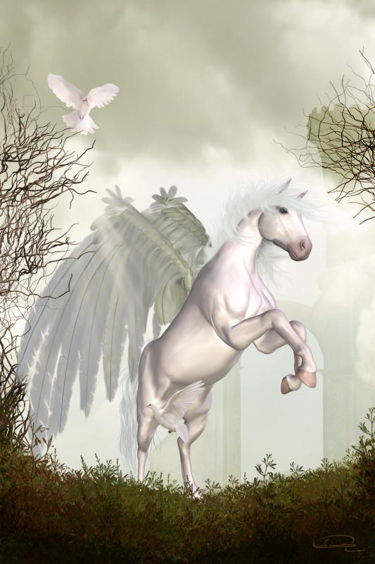 pegasus winged horse emma alvarez